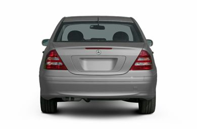 Rear Profile  2007 Mercedes-Benz C280
