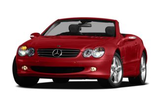 3/4 Front Glamour 2007 Mercedes-Benz SL600