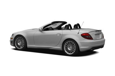 Surround 3/4 Rear - Drivers Side  2007 Mercedes-Benz SLK55 AMG