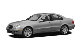 3/4 Front Glamour 2007 Mercedes-Benz E350