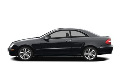 90 Degree Profile 2007 Mercedes-Benz CLK550