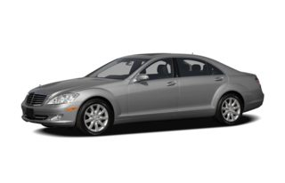 3/4 Front Glamour 2007 Mercedes-Benz S600