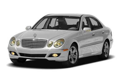 3/4 Front Glamour 2007 Mercedes-Benz E550