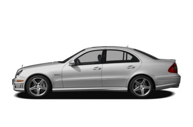 90 Degree Profile 2007 Mercedes-Benz E63 AMG