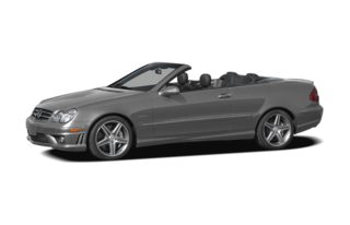 3/4 Front Glamour 2007 Mercedes-Benz CLK63 AMG