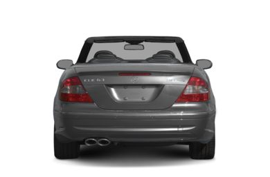 Rear Profile  2007 Mercedes-Benz CLK63 AMG