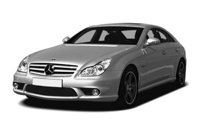 3/4 Front Glamour 2007 Mercedes-Benz CLS63 AMG