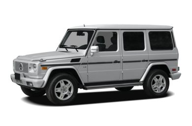 3/4 Front Glamour 2007 Mercedes-Benz G500