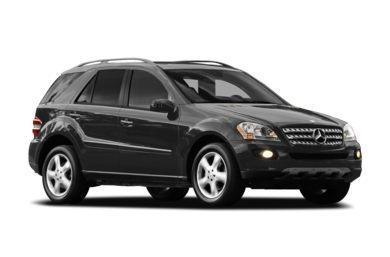 3/4 Front Glamour 2007 Mercedes-Benz ML500