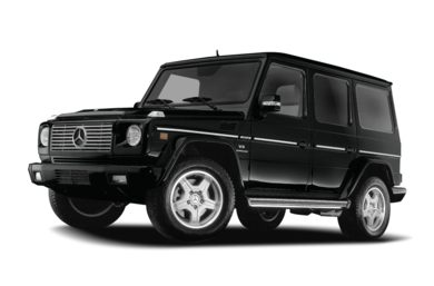 3/4 Front Glamour 2007 Mercedes-Benz G55 AMG