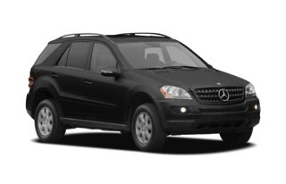 3/4 Front Glamour 2007 Mercedes-Benz ML350