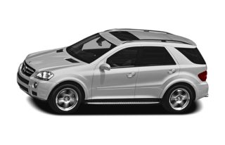 3/4 Front Glamour 2007 Mercedes-Benz ML63 AMG