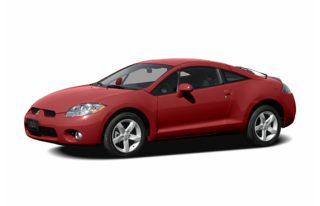 3/4 Front Glamour 2006 Mitsubishi Eclipse