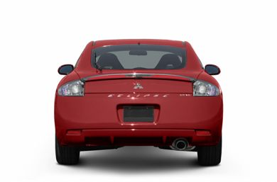 Rear Profile  2007 Mitsubishi Eclipse