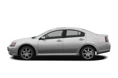 90 Degree Profile 2007 Mitsubishi Galant