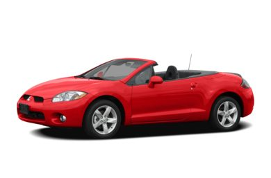 3/4 Front Glamour 2007 Mitsubishi Eclipse Spyder
