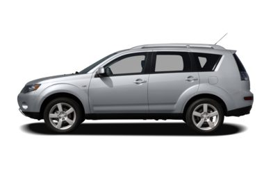 90 Degree Profile 2007 Mitsubishi Outlander