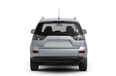 Rear Profile  2007 Mitsubishi Outlander