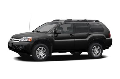 3/4 Front Glamour 2007 Mitsubishi Endeavor