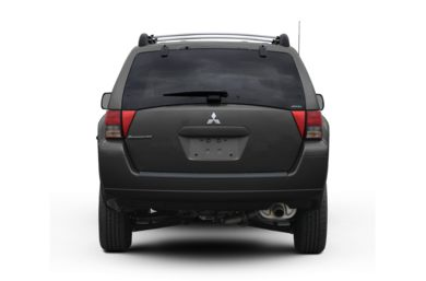 Rear Profile  2007 Mitsubishi Endeavor