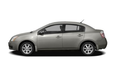 90 Degree Profile 2007 Nissan Sentra
