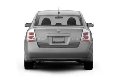 Rear Profile  2007 Nissan Sentra