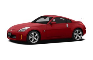 3/4 Front Glamour 2007 Nissan 350Z