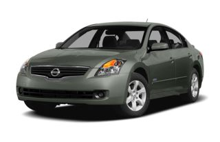 3/4 Front Glamour 2007 Nissan Altima Hybrid