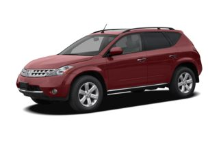 3/4 Front Glamour 2007 Nissan Murano