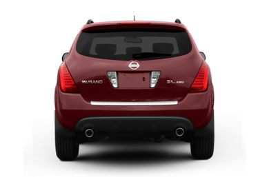 Rear Profile  2007 Nissan Murano