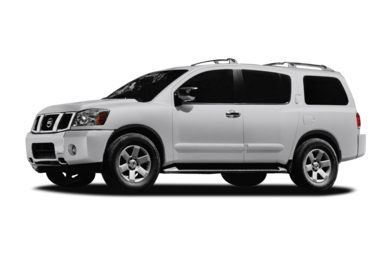 3/4 Front Glamour 2007 Nissan Armada