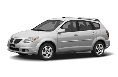 3/4 Front Glamour 2007 Pontiac Vibe