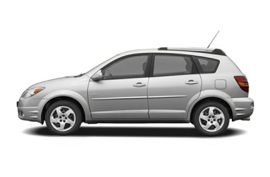 90 Degree Profile 2007 Pontiac Vibe