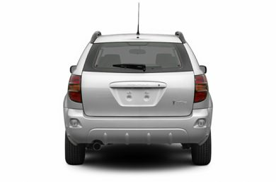 Rear Profile  2007 Pontiac Vibe