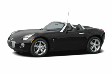 3/4 Front Glamour 2007 Pontiac Solstice