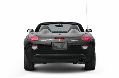Rear Profile  2007 Pontiac Solstice