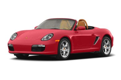 3/4 Front Glamour 2007 Porsche Boxster