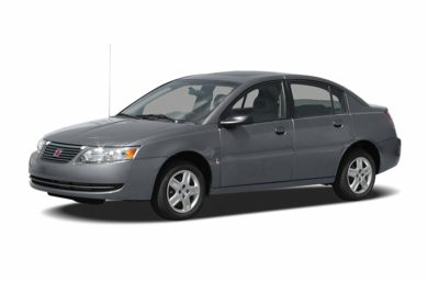 3/4 Front Glamour 2007 Saturn ION