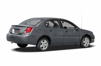 3/4 Rear Glamour  2007 Saturn ION
