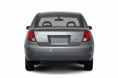 Rear Profile  2007 Saturn ION