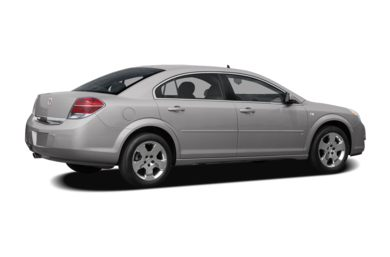 3/4 Rear Glamour  2007 Saturn Aura