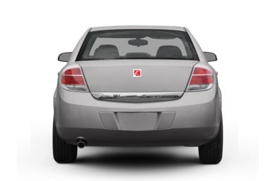 Rear Profile  2007 Saturn Aura