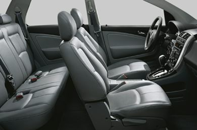 Interior Profile  2007 Saturn VUE Hybrid