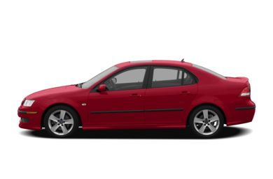 90 Degree Profile 2007 Saab 9-3