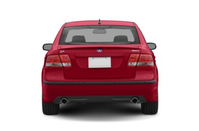 Rear Profile  2007 Saab 9-3