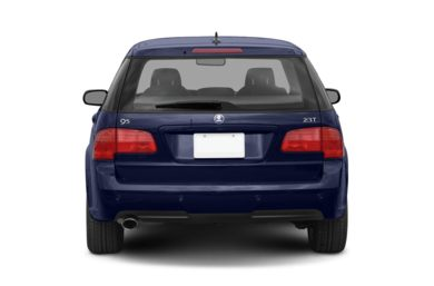 Rear Profile  2007 Saab 9-5