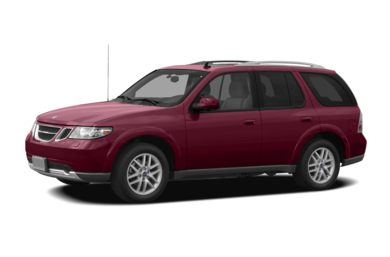 3/4 Front Glamour 2007 Saab 9-7X
