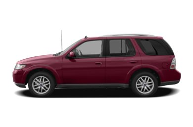 90 Degree Profile 2007 Saab 9-7X