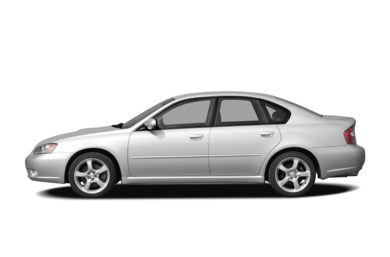 90 Degree Profile 2007 Subaru Legacy
