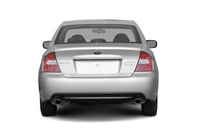 Rear Profile  2007 Subaru Legacy